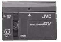 JVC Professional DV 63 Minute Metal Evaporated Mini-DV - Lot of 3 BRAND NEW
