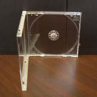 CD Jewel Box and Clear Tray Set - Pro Quality - 50 pcs