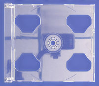 2-CD Clear tray