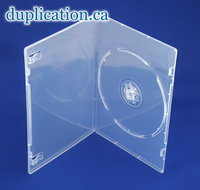 DVD Box 7mm Clear Single F/S 200 pieces