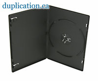 DVD Box 7mm Black Single F/S 25-Pack