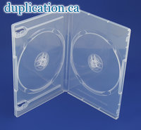 DVD Box 14mm Clear Double F/S