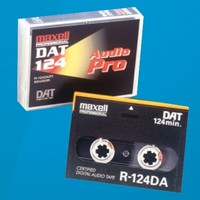 Maxell 34 Minute PRO CERTIFIED Audio DAT tape