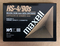 Maxell 2GB / 90 Meter DDS DAT Cartridge