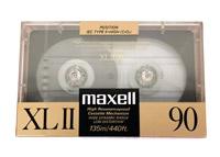 Maxell XLII - 90 CrO2 Blank Audio Cassette Tape Vintage 3
