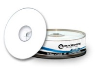 25GB Blu-ray Media, Silver Lacquer Thermal, 4X