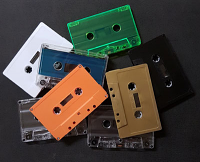 Blank Audio Cassettes Custom-Loaded With Chrome High Bias Tape In Your Choice Of Color
