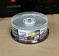 Philips LightScribe DVD-R (25 Discs)