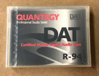 Quantegy R94 Certified Master DAT Tape Made in Japan