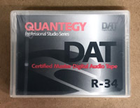 Quantegy R34 Certified DAT tape Made in Japan