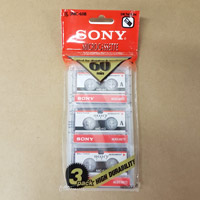 Sony Microcassette 3-Pack with Free Shipping in North America