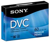Sony Mini-DV 60 Minutes