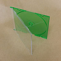 Green CD Slimline 5.2mm Pro Grade 10 pieces
