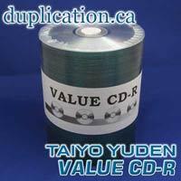 CMC PRO (ex-Taiyo Yuden) silver CD-R ** Value Line ** (100)