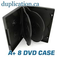 DVD 8 Disc Case -