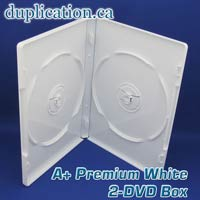 A+ Premium White 2 DVD Box