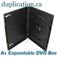 Standard Pro DVD Box, Expandable - 25 PACK