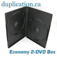 DVD 2 Disc Case - LIQUIDATION