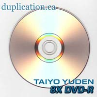 Taiyo Yuden 8X DVD-R inkjet printable ** Silver ** 100 * Original Made in Japan