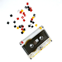 Tab Plugs - Convert Tab Out Cassettes to Tab In! 25 Pieces
