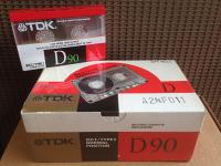TDK D-90 High Output Normal Bias Cassette Tape