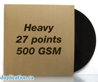 "Recycled 27 Point Chipboard Jacket for Vinyl 12"" Records  - 10pk"