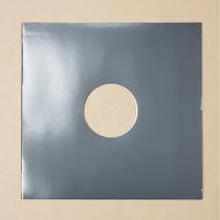 "Blank Grey Jacket for Vinyl 12"" Records With Hole - 10pk"