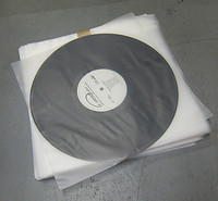 Poly Inner Sleeve for 12 inch Records - Pack of 100