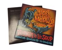 Short Run Printed 7 Inch Vinyl Record Jackets - Digital Print