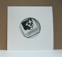 LIQUIDATION * White Cardboard Jacket with Diecut Center Hole for 7 Inch Records - 300 Pieces