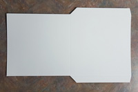 White Jacket Flats for 7 Inch Vinyl Records - 7.25 Inches - 100 Pieces