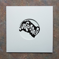 Coated Glossy White Cardboard 7.25 Inch Jackets with Diecut Center Hole for 7 Inch Records - 100 Pack
