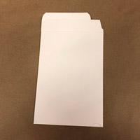 White bottom load sleeve no window