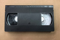 105/210 Minute VHS Tape