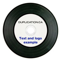 Digital Vinyl CD-R Duplication Package