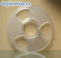 New 10.5 Inch Plastic Reel for Quarter-Inch Tape