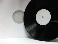 "WHITE LABEL PROMO - 100 12"" Vinyl Records - Made in Canada!"