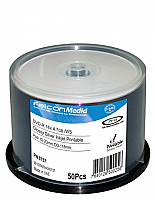 Falcon Glossy Silver Inkjet DVD-Rs