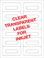 Transparent Audio Cassette Labels For Inkjet Printers