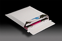 Paperboard Expandable Mailer, up to 2 CDs