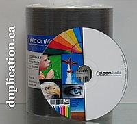 Falcon DVD-R 16X Glossy Inkjet Hub Printable