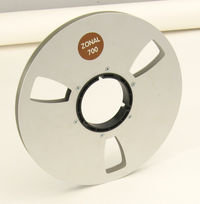 Zonal Metal Reel for Half-Inch Tape