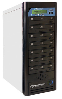 CopyWriter Network Blu-Ray Duplicator with up to 10 drives