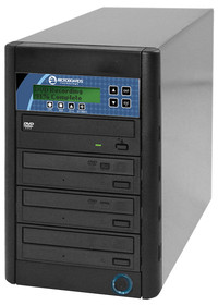 CopyWriter Premium CD-DVD duplication towers, 3 to 10 Drives with Hard Drive