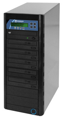 CopyWriter Premium CD/ DVD duplication towers, 5 to 10 Drives - Network Attach