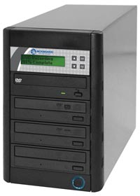 Microboards Quic Disc Family of CD/DVD Copiers with Hard Drive