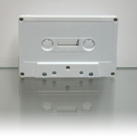 white tab-in normal cassette