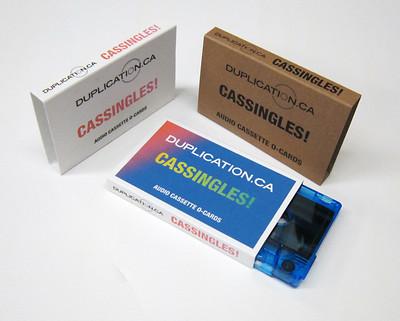 Audio Cassette Cassingle Packages At Duplication Ca