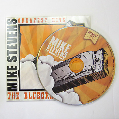 2 panel cardboard sleeve and CD