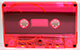 Pink Neon tinted cassette